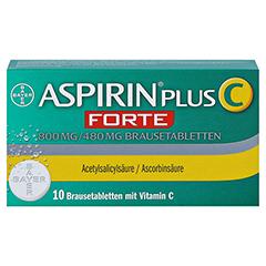 Aspirin plus C Forte 800mg/480mg 10 Stück - Vorderseite