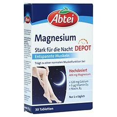 ABTEI Magnesium 400 (Stark für die Nacht) 30 Stück