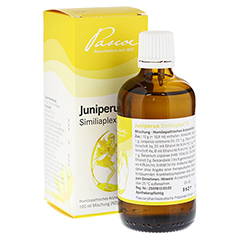 JUNIPERUS SIMILIAPLEX R Tropfen 100 Milliliter N2