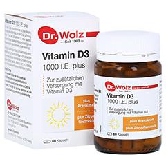 VITAMIN D3 1.000 I.E. plus Dr.Wolz Kapseln 60 Stück