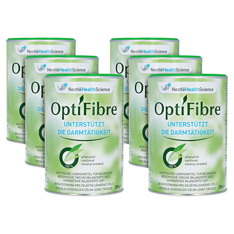OPTIFIBRE Pulver 6x250 Gramm