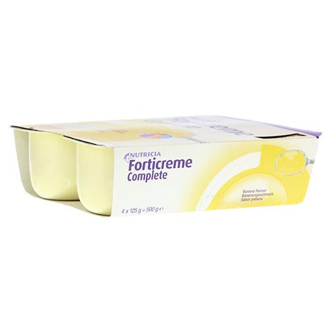 FORTICREME Bananengeschmack 4x125 Gramm