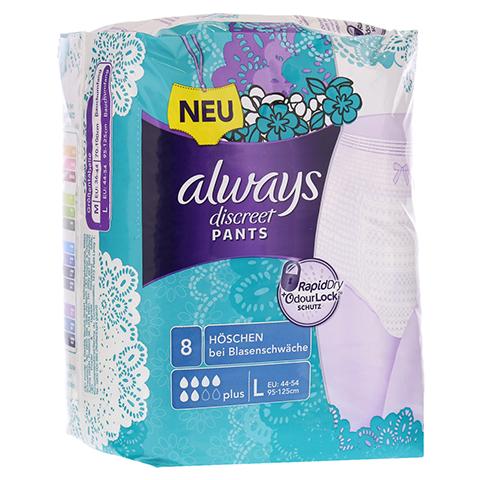 ALWAYS discreet Inkontinenz Pants plus large 8 Stück