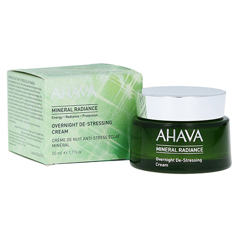 Ahava MINERAL RADIANCE Overnight De-Stress Creme 50 Milliliter