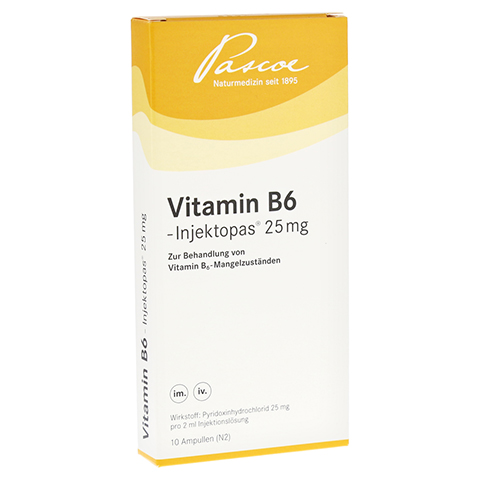 VITAMIN B6 Injektopas 25 mg Injektionslösung 10x2 Milliliter N2