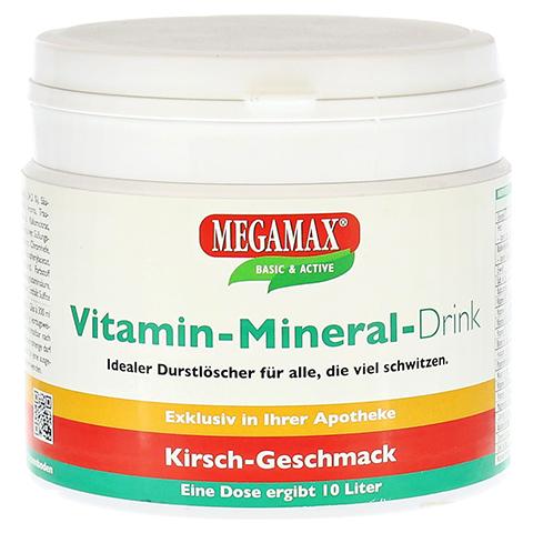 Megamax Vita Mineral Drink Kirsche Pulver 350 Gramm