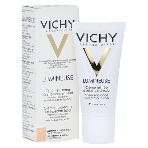 VICHY LUMINEUSE Mate clair normale/Mischhaut Creme 30 Milliliter