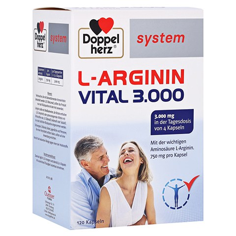 Doppelherz system L-arginin Vital 3.000 Kapseln 120 Stück