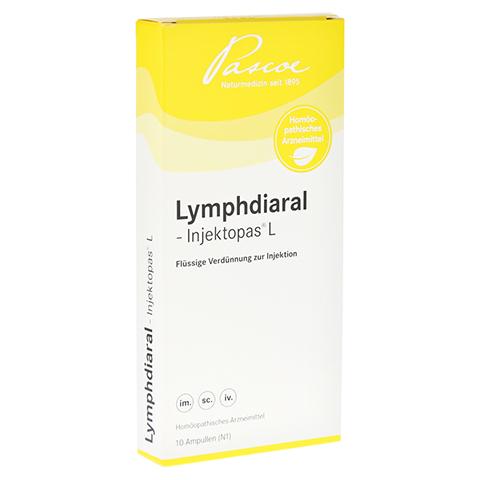 LYMPHDIARAL INJEKTOPAS L Ampullen 10 Stück N1
