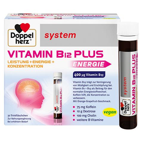 Doppelherz system Vitamin B12 Plus Leistung + Energie + Konzentration 30x25 Milliliter