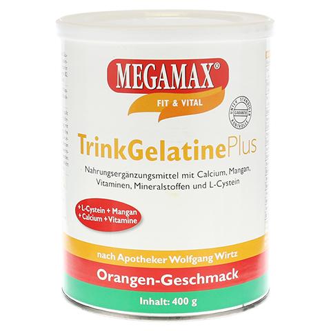 MEGAMAX Trinkgelatine Pulver 400 Gramm