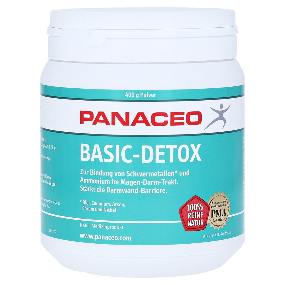 PANACEO Basic-Detox Pulver 400 Gramm