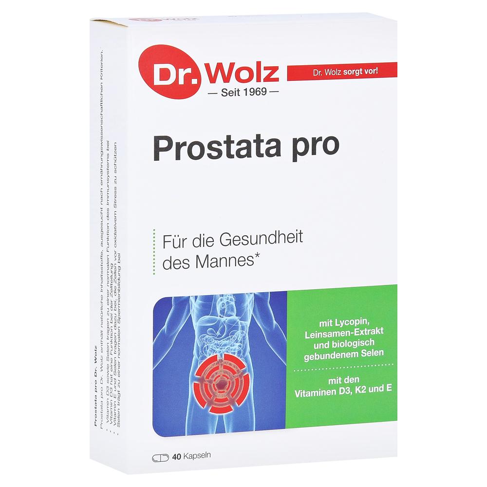 PROSTATA PRO Dr.Wolz Kapseln 2x20 Stück online bestellen - medpex ...