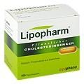 Lipopharm Pflanzlicher Cholesterinsenker Weichkapseln 100 Stück N2