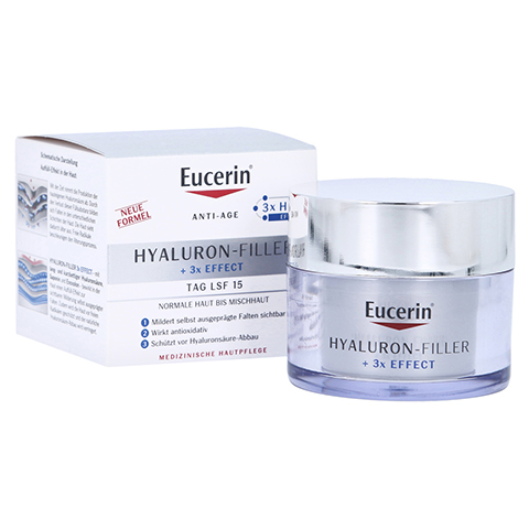 EUCERIN Anti-Age HYALURON-FILLER Tag norm./Mischh. 50 Milliliter
