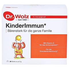KINDERIMMUN Dr.Wolz Pulver 30x2 Gramm - Vorderseite