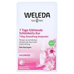WELEDA Wildrosen 7 Tage glättende Schönheits-Kur 7x0.8 Milliliter - Vorderseite
