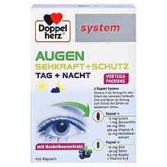 DOPPELHERZ Augen Sehkraft+Schutz system Kapseln 120 Stück - Vorderseite