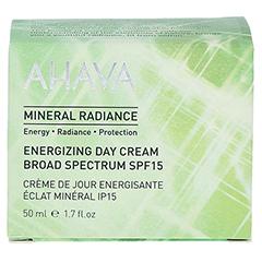 AHAVA Mineral Radiance Energizing Day Cream SPF 15 + gratis Ahava Mineral Toning Water 250 ml 50 Milliliter - Vorderseite