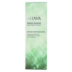 AHAVA Mineral Radiance Instant Detox Mud Mask 100 Milliliter - Vorderseite