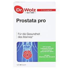 PROSTATA PRO Dr.Wolz Kapseln 2x20 Stück - Vorderseite