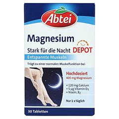 ABTEI Magnesium 400 (Stark für die Nacht) 30 Stück - Vorderseite