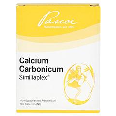 CALCIUM CARBONICUM SIMILIAPLEX Tabletten 100 Stück N1 - Vorderseite