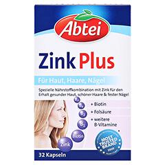ABTEI Zink Plus (Vitalstoff-Kapseln) 32 Stück - Vorderseite