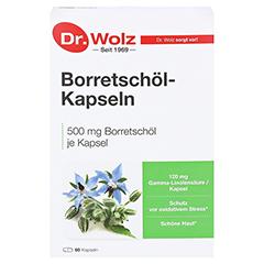 BORRETSCHÖL KAPSELN Dr.Wolz 60 Stück - Vorderseite