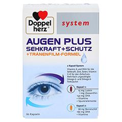 Doppelherz system Augen Plus Sehkraft + Schutz + Tränenfilm-Formel 60 Stück - Vorderseite