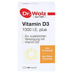 VITAMIN D3 1.000 I.E. plus Dr.Wolz Kapseln 60 Stück - Vorderseite