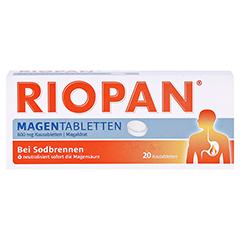 Riopan Magen Tabletten 20 Stück N1 - Vorderseite