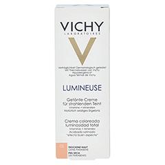 VICHY LUMINEUSE Satinee peche f.trockene Haut Cr. 30 Milliliter - Vorderseite