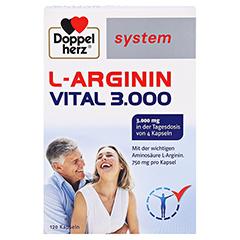 Doppelherz system L-arginin Vital 3.000 Kapseln 120 Stück - Vorderseite