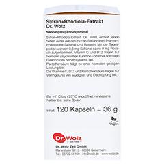 SAFRAN+RHODIOLA-Extrakt Dr.Wolz Kapseln 120 Stück - Linke Seite