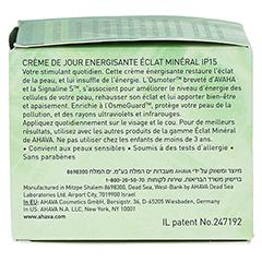 AHAVA Mineral Radiance Energizing Day Cream SPF 15 + gratis Ahava Mineral Toning Water 250 ml 50 Milliliter - Linke Seite