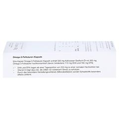 OMEGA 3 Fettsäuren 500 mg/60% Kapseln 60 Stück - Linke Seite