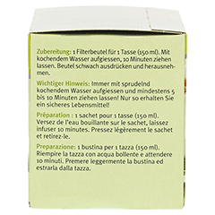 Sidroga Wellness Basentee Filterbeutel 20x1.5 Gramm - Linke Seite