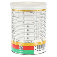 MEGAMAX Trinkgelatine Pulver 400 Gramm - Linke Seite