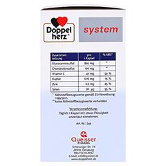 DOPPELHERZ Glucosamin Plus 800 system Kapseln 60 Stück - Linke Seite