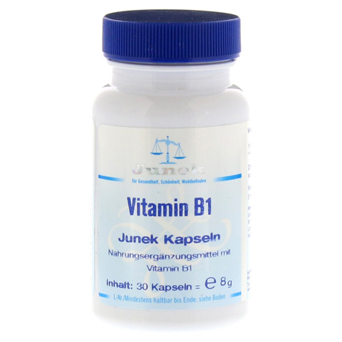 VITAMIN B1 3,0 mg Junek Kapseln 30 Stück