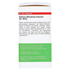 SAFRAN+RHODIOLA-Extrakt Dr.Wolz Kapseln 120 Stück - Rechte Seite
