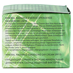 AHAVA Mineral Radiance Energizing Day Cream SPF 15 + gratis Ahava Mineral Toning Water 250 ml 50 Milliliter - Rechte Seite