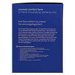 VISOMAT comfort form Oberarm Blutdruckmessgerät 1 Stück - Rechte Seite