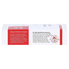 OMEGA 3 Fettsäuren 500 mg/60% Kapseln 60 Stück - Rechte Seite