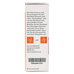 Fungizid-ratiopharm Pumpspray 40 Milliliter N2 - Rechte Seite