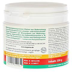 Megamax Vita Mineral Drink Kirsche Pulver 350 Gramm - Rechte Seite