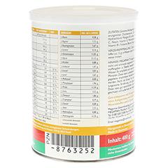 MEGAMAX Trinkgelatine Pulver 400 Gramm - Rechte Seite