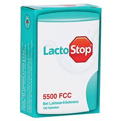 LACTOSTOP 5.500 FCC Tabletten Klickspender 120 Stück