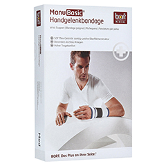 BORT ManuBasic Bandage links large haut 1 Stück